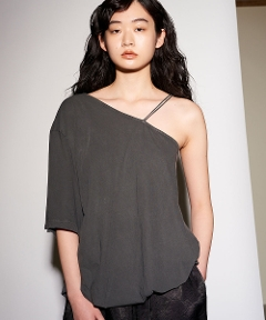 Technorama Asymmetry Tee DK.GREY