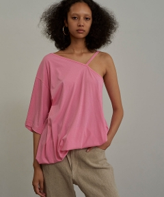 Technorama Asymmetry Tee PINK