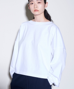 Royal Organic Long Sleeve Tee WHITE