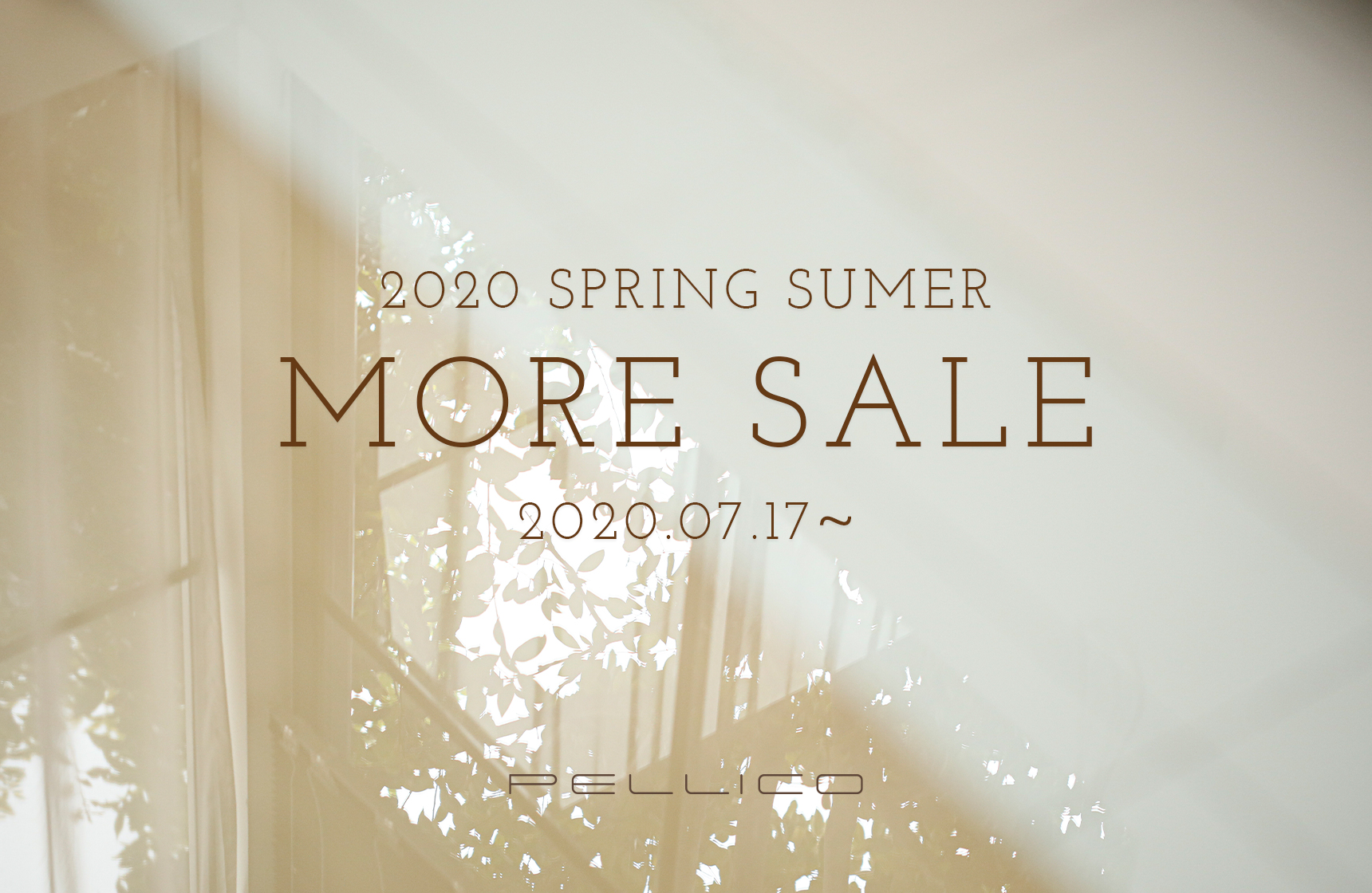 2020 SPRING SUMMER MORE SALE 第二弾